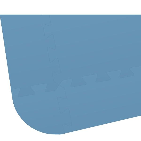 Rand für Bodenmatte XL blau
