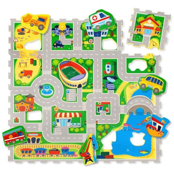 Hakuna Matte Puzzle Play Mat - City (1.2x-1.2m)