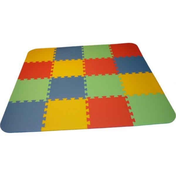 Bodenmatte Puzzlematte UNO Plus (16 Teile) - 16 mm - 0+