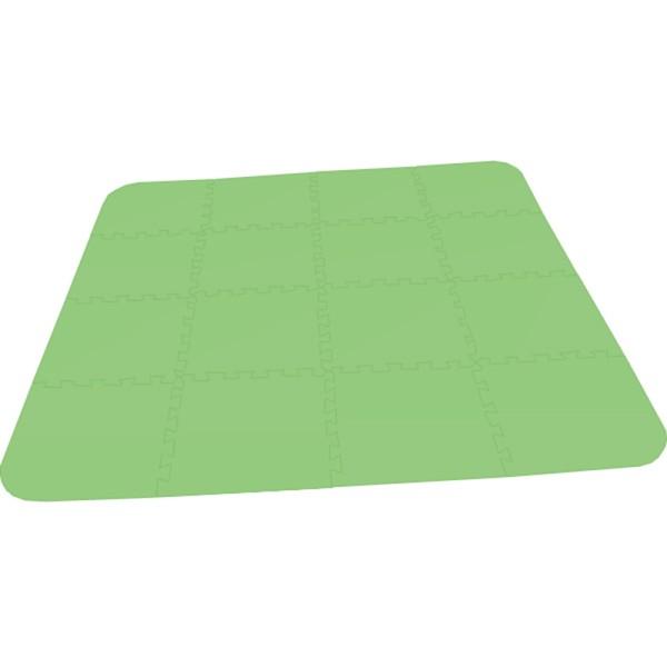 Bodenmatte Puzzlematte UNO Plus (16 Teile) - 8 mm grün
